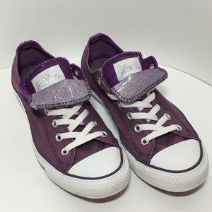 CONVERSE Double Tongue Purple Sneaker